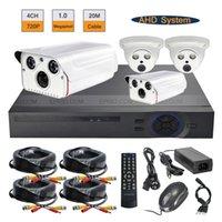 Wholesale CCTV AHD DVR System ch Surveillance p MP Array IR Indoor Outdoor Kit