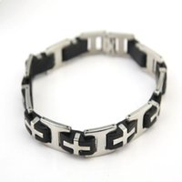 Wholesale Bracelet for Men Jewelry Stainless Steel Pulseiras Masculinas Bijoux Birthday Party Friends Gifts ZK108