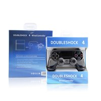 Wholesale Wired PS4 Video Game Controller for Dualshock PlayStation PS4 Console Charging Cable PC Joystick Gamepad A Quality