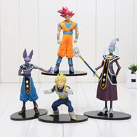 battle bag - 6 cm Dragon Ball Z Battle Of Gods PVC Figure Whis Beerus Goku Vegeta Decoration Dolls in opp bag