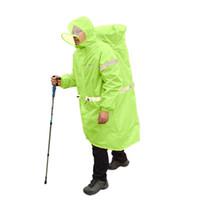adult rain gear - Fashion New Hot Sales Women Men Unisex Rain Gear Rain Coat Camping Long Parka Clothing Tops M XL Raincoat High Quality Y1457