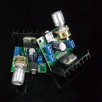 Wholesale 1PCS AC DC V TDA7297 Version A Dual Channel Audio Amplifier Board w w DIY Amplifier Cheap Amplifier