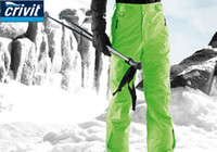 Wholesale Crivit Free Shipping - Wholesale-FREE SHIPPING,Promotion,CRIVIT Snowboarding Pants S-M-L-XL 4 colors waterproof ski and snowboard pant ,high quality skiing pant