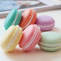 Wholesale 10 Mini clips dispenser Macaron storage box Candy organizer for eraser zakka Gift Stationery Office school supplies