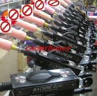 auto timing gun - 2015 New Adjustable speeds sex machine gun auto sex machine for woman dildo vagina toy speed times minute