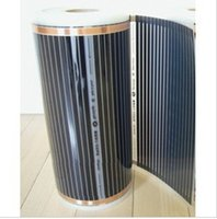 Wholesale Electric floor heating electric heating film material far infrared geothermal membrane