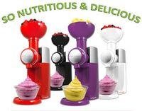 Wholesale 2015 NEW Big Boss Swirlio Frozen Fruit Ice cream Dessert Maker Magic Snack Maker w by free DHL