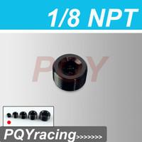 Wholesale J2 RACING STORE quot NPT Pipe Thread Allen Socket Plug black npt plug PQY SL932