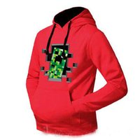 Wholesale hot sale new Autumn and winter New Minecraft Creeper Thickening Hoodies Video Games clothing leisure outerwear