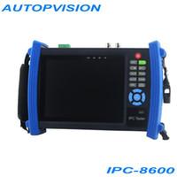MONITOR LCD CCTV portátil TESTER 7inch imagen de la cámara IP ONVIF Prueba Mobile Client vídeo Salida HDMI WIFI IPC-8600