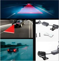 Wholesale Anti Collision Rear end Car Laser Tail Fog Light Auto Brake Parking Lamp Rearing Warning Light Signal Auto Brake Parking Bulb Lamp