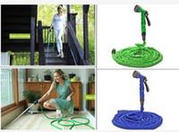 Wholesale Deluxe Feet Expanding Flexible Garden Water Hose Spray Nozzle Valve Car