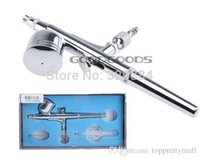 Wholesale Air Brush Spray Gun Dual Action Airbrushing Kit mm Paint Spray Gun Kit Set Cake Decorating Paint Tool A3