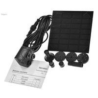 Wholesale 2015 High Quality Solar Panel Power Submersible Outdoor Mini Solar Garden Fountain Plant Water Pump Kit