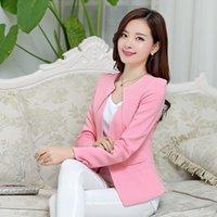 Wholesale 2015 autumn slim short design women s blazer outerwear long sleeve short design plus size suit