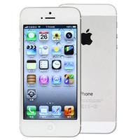 Wholesale Iphone5 Unlocked Original Apple Iphone ISO Dual Core GB RAM GB ROM quot MP Camera G Smartphone