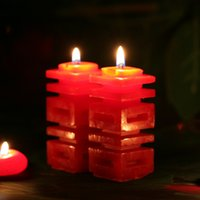 Wholesale New Arrival Wedding supplies Large word double happiness candle word marriage wax decoration
