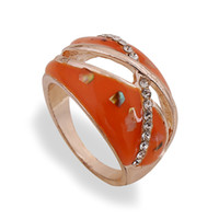 Cheap 2015 Mixture Multi-sytle Rings For Women Fashion Jewelry Valentines Enamel Rings Geometric Rose Gold Shell Engagement Ring Midi Ring Jewelry