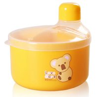 baby formula storage - Infant formula baby food storage boxes Rotary fourfold milk box portable baby milk carton grid points