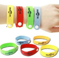 Cheap wholesale free shipping new natural Mosquito insect bracelet band writst band Repellent Bracelet