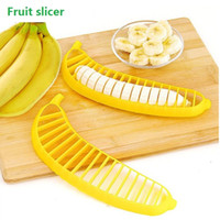 Wholesale New Practical and convenient fruit salad essential banana slicer fruit slicer