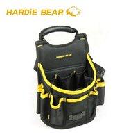 Wholesale Hardie Bear Tool Bag Black Bucket Bag Tool Pouch Waist Bag Professional Electricians Organizer HBT Good Quality