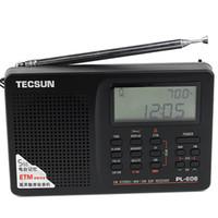 TECSUN PL-606 Portable DSP Radio FM stéréo / MW / SW / LW Récepteur Avec ETM ATS Alarme Y4121A