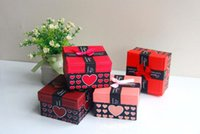 Wholesale Watch Box With Soft Pillow Chain Charm Bracelets Box Gift Boxes For Bangle Jewelry or Watches Colors Mixed