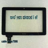 Wholesale ainol novo7 years advanced ii elf fairy touch screen capacitance screen