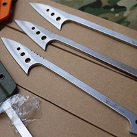 kydex - EDC fishing Harpoon to flake tools Fixed Blade Knife Kydex Sheath colors for your choice