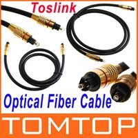 Wholesale 1M FT Digital Audio Optical Fiber Cable Toslink Cable Cord Male to Male order lt no track