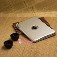 Para Mini iPad Caso 4 Teclado Ultra Thin Folio soporte elegante de la cubierta de Shell con Bluetooth Wireless Keyboard para iPad Mini 4 010 245