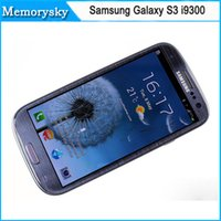 galaxy s3 phone - Hot Unlocked Original Samsung Galaxy S3 i9300 GSM G Quad core GB storage inch MP camera Refurbished cell phones
