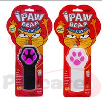 Wholesale The Second generation Upgrade Laser IPAW BEAM Cat Toy Dog Toy Laser Pointer Cat Training Toys Laser Cat Stick Funny