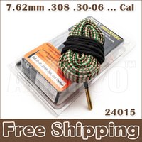 Wholesale Armiyo Hot Sale New Hoppe s Boresnake Fastest Bore Snake Cleaner mm Cal Hunting Cleaning
