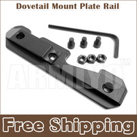 Wholesale Armiyo AK Tactical U Side Dovetail Mount Plate Rail Mount Steel Milled Receiver With Three Bolts Fit Series