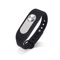Wholesale Wearable bracelet Wristband GB Digital Voice Recorder Wrist Watch Dictaphone Black Rechargeable Recording Pen Drive Sound Audio Recorder