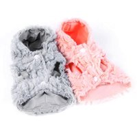 Wholesale Coral Fleece Dog Hoodie Warm Coat Pet Cat Dog Jacket Apparel Puppy Clothes N0002 W0 SUP5