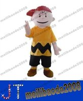 Wholesale cartoon character charlie brown mascot costume fancy dress costumes adult costume custom mascot suit MYY15543A