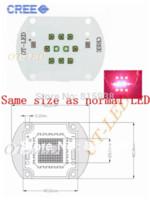 Wholesale Cree Xpe Grow Light - 30W Cree XPE XP-E Led Emitter Bulb Red(8PCS)+ Blue(2PCS) Mix Color Multichip Plant Grow Light DIY Emitter 24-26V 350mA~1000MA