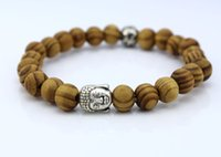 adorn designs beads - The new design beaded wooden beads jewelry men and women adorn Buddha yoga stretch bracelet