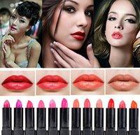 Al por mayor-1 PCS del maquillaje caliente Marca Mate Lipstick Lipstick 24 Femenino Cosmetics Wholesale magia Colores