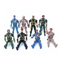 Wholesale people doll Plastic joints dongbing people special forces soldier toy boys military sand table model