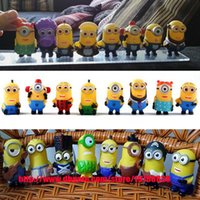 Wholesale ArielBaby Set Baby Toys Minion Collections Despicable Me Cosplay Minions Doll Action Figures D Eye CM Puppets Halloween Gift
