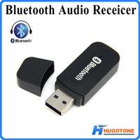 Wholesale Upgraded Wireless Bluetooth Dongle in USB AUX mm Music Audio Car Hands free Receiver Adapter