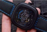 automatic perpetual calendar - SevenFriday P3 PCF Prior s Court V6F Best Edition RG Dial on Black Leather Strap Miyota S7