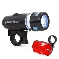 Wholesale New and high quality Ultra Bright Cycling Bicycle Waterproof LED Front Head Light Rear Flashlight