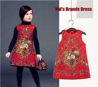 Cheap Kids cotton dresses Best baby girls clothes