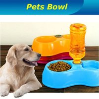 Cheap Wholesale-High Quality Health Dog Bowl ! Pets Dog Cat Automatic Water Feeder Drinking Bowl Dish Dispenser Free Shipping
