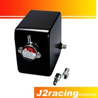 Wholesale J2 RACING STORE BLACK LITRE CUSTOM ALLOY WATER EXPANSION HEADER TANK mm mm FITTING CAP NEW PQY TK24BK